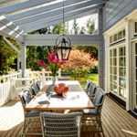 Как оформить интерьер веранды в частном доме: 13 идей, 35 фото