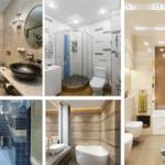 Шикарный дизайн узкой ванной комнаты: примеры и советы от специалистов