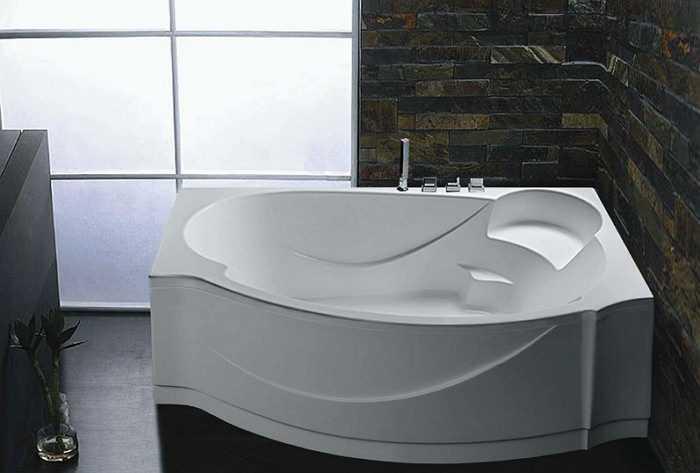 Способы установки на ножки и крепление акриловой ванны к стене без каркаса